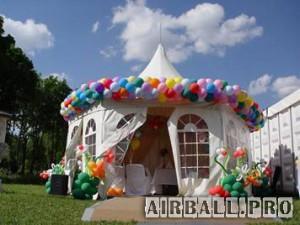 Оформление воздушными шарами в Москве