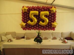 Цифры из воздушных шаров - фольгированные