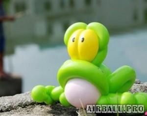Декоративные фигуры из шаров 1