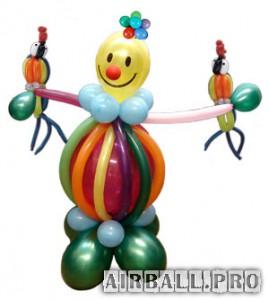 Оформление и украшение детского праздника воздушными шарами
