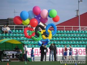 Оформление спортивных мероприятий шарами