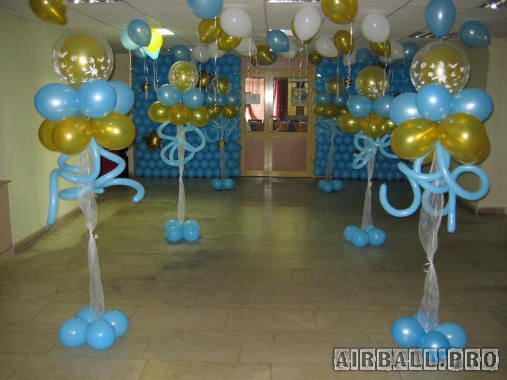 Украшение зала из шаров своими руками фото 39