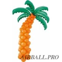 Фигуры из шариков - пальма