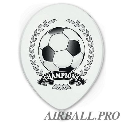 Оформление спортивных мероприятий шарами - Футбол Чемпион